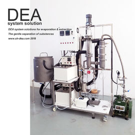China HTA Short Path Essential Oil Distillation Equipment Lower Pressure Special Design supplier