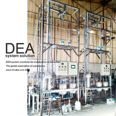 China Stainless Steel 304 Fractional Distillation Tower / Chemical Distillation Equipment supplier
