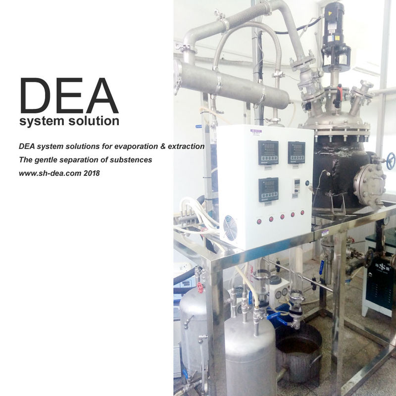 0 2 KW Power Herbal Extraction Equipment Easy Operation For