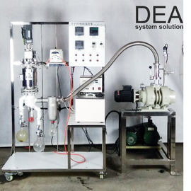 China Small Scale Steam Distillation Equipment High Ratio 2000-6000 Ml / H Feed Amount factory