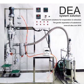China Atmospheric Molecular Distillation Equipment Reflux 80-390 Rpm Rotation Speed factory
