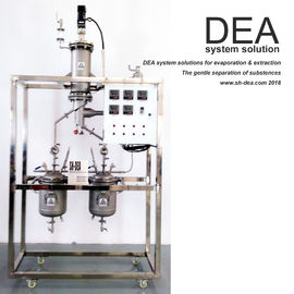 Oil Commercial Steam Distillation Equipment Wiped Filming System 220V 60HZ