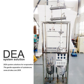 0.5 KW Power Vacuity Petroleum Distillation Column Stainless Steel 304 Special Design
