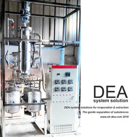 China Vacuum Thin Film Evaporator Use In The Chemical , Continuous Distillation Column Pressure Control factory