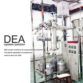China Agitated Wiped Thin Film Vacuum Distillation Equipment 40-250 Rpm Rotation Speed factory