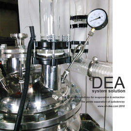 Heat Exchanger Hemp Extraction Machine Vacuum Distillation Equipment