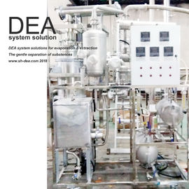 Horizontal Or Vertical Solvent Recovery Unit / Solvent Distillation Equipment