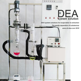 Lab Solvent Recovery Machine , Solvent Distillation Plant 220V 60hz Voltage Feed Amount
