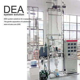 China High Vacuum Distillation Machine Wiped Filming System 0.5-50 Mbar Vacuity Feed Amount factory