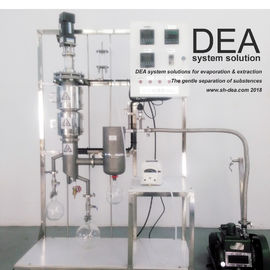 Chemical Distillation Lab Equipment Continuous Process Low Operating Pressure