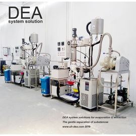 China 2 Stage Molecular Distillation Equipment Continuous Distillation Process factory