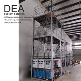 China Powerful Multistage Distillation System / Stainless Oil Distillation Machine factory