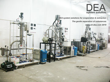 CBD Multistage Distillation System , Extraction Multistage Film Evaporator