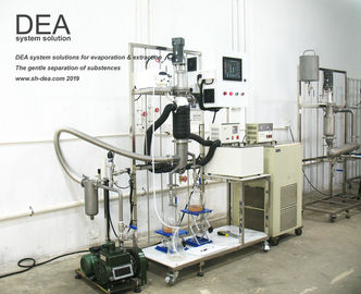 Plant Oil Molecular Distillation Equipment With PLC Automatic Control System