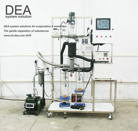 Short Range Molecular Distillation Equipment With PLC Automatic Control System