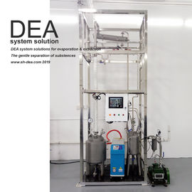 Continuous Working Vacuum Distillation Machine , Industrial Ethanol Distillation Tower